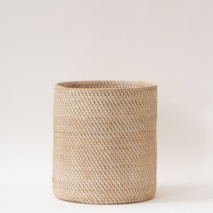 Hata Rattan Handwoven Hamper – Natural