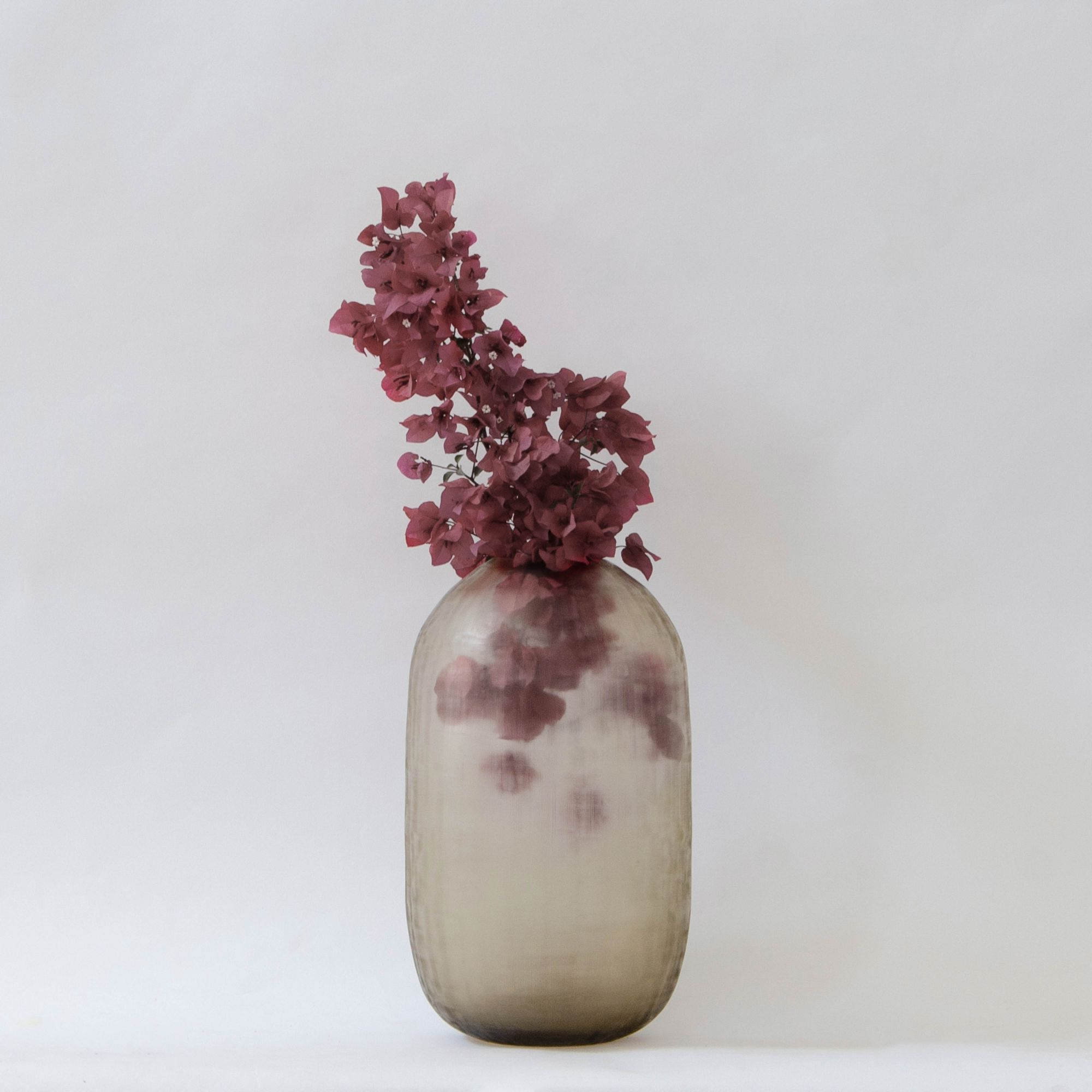 Dunes Glass Vase - Brunette