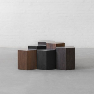 Honeycomb Coffee Table Island - Set of 6