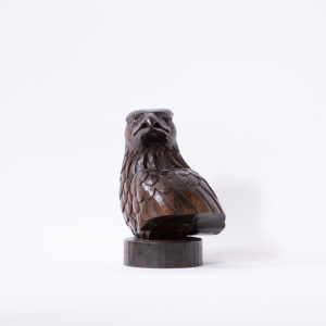 Himalayan Golden Eagle Solid Wood Decor Object