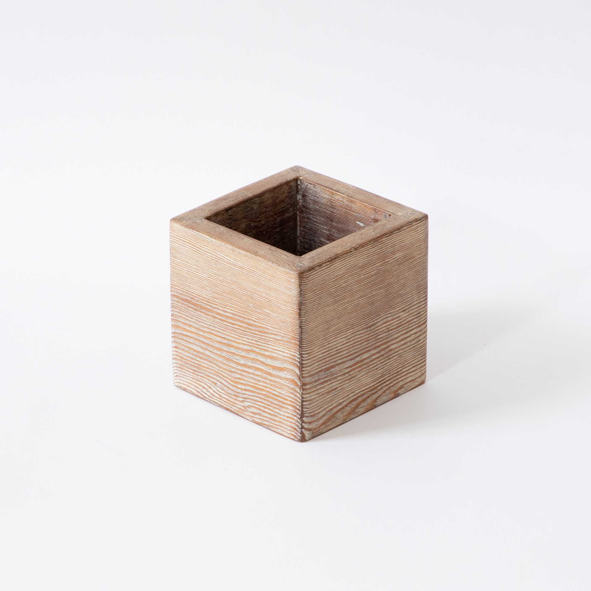 Hyde Cube Wooden Table Accessory