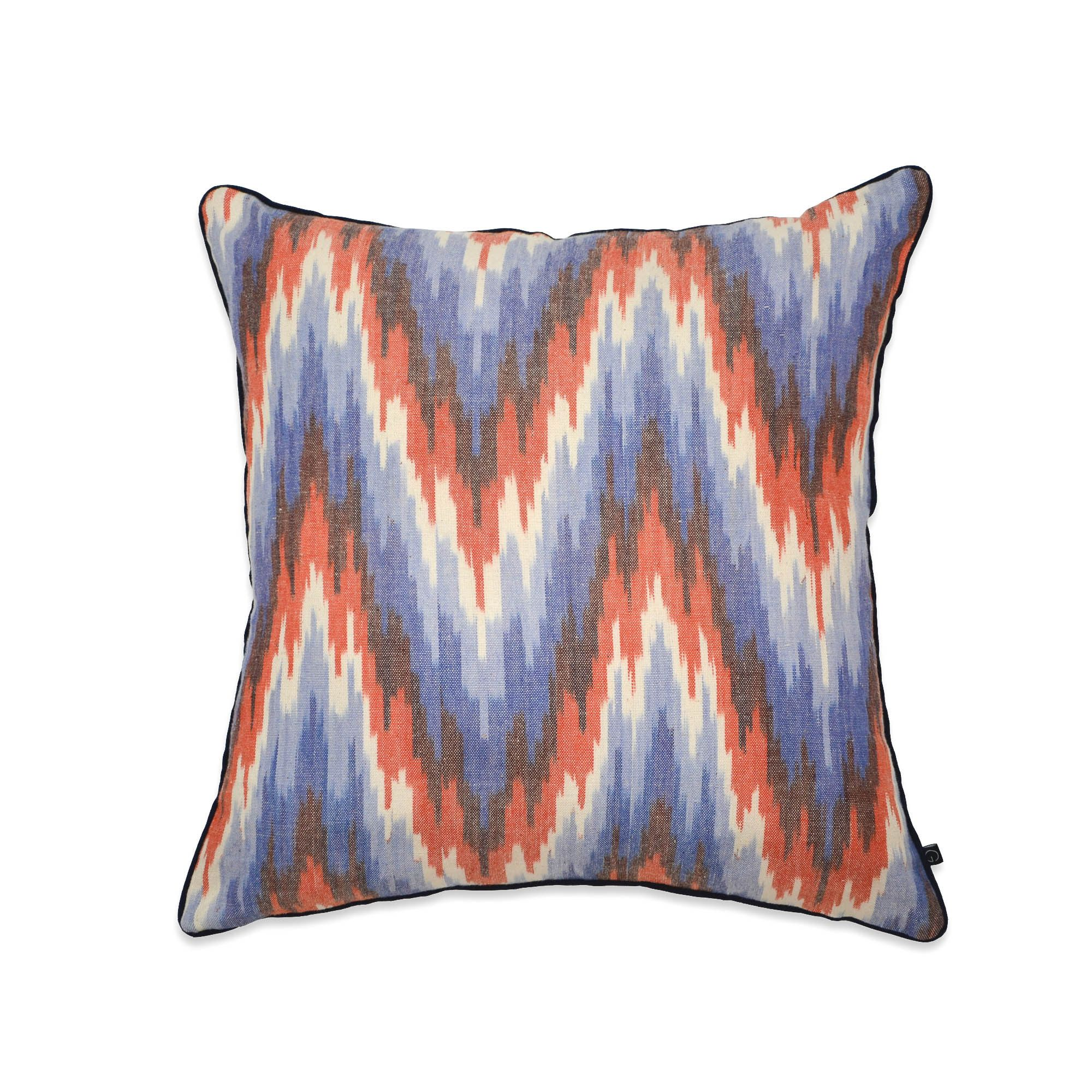 IKAT ICE MOUNTAIN CUSHION COVER