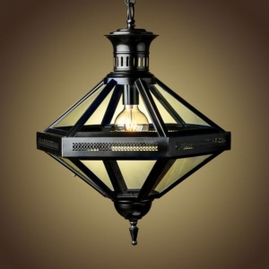 Duomo Hexagon Pendant Chandelier Bronze