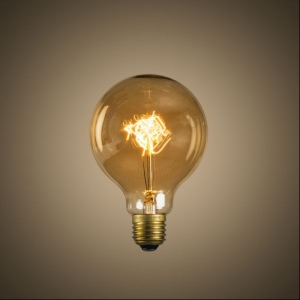 Vintage Globe Bulb Filament (Medium)