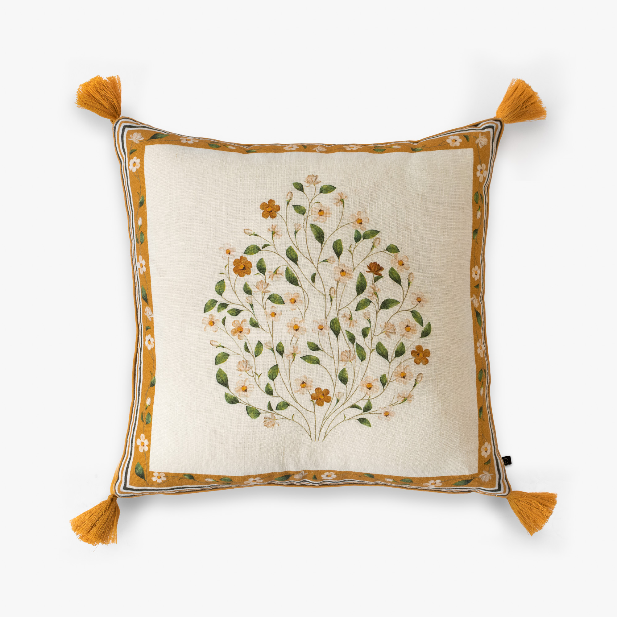 Swaying Jasmines Cushion Cover