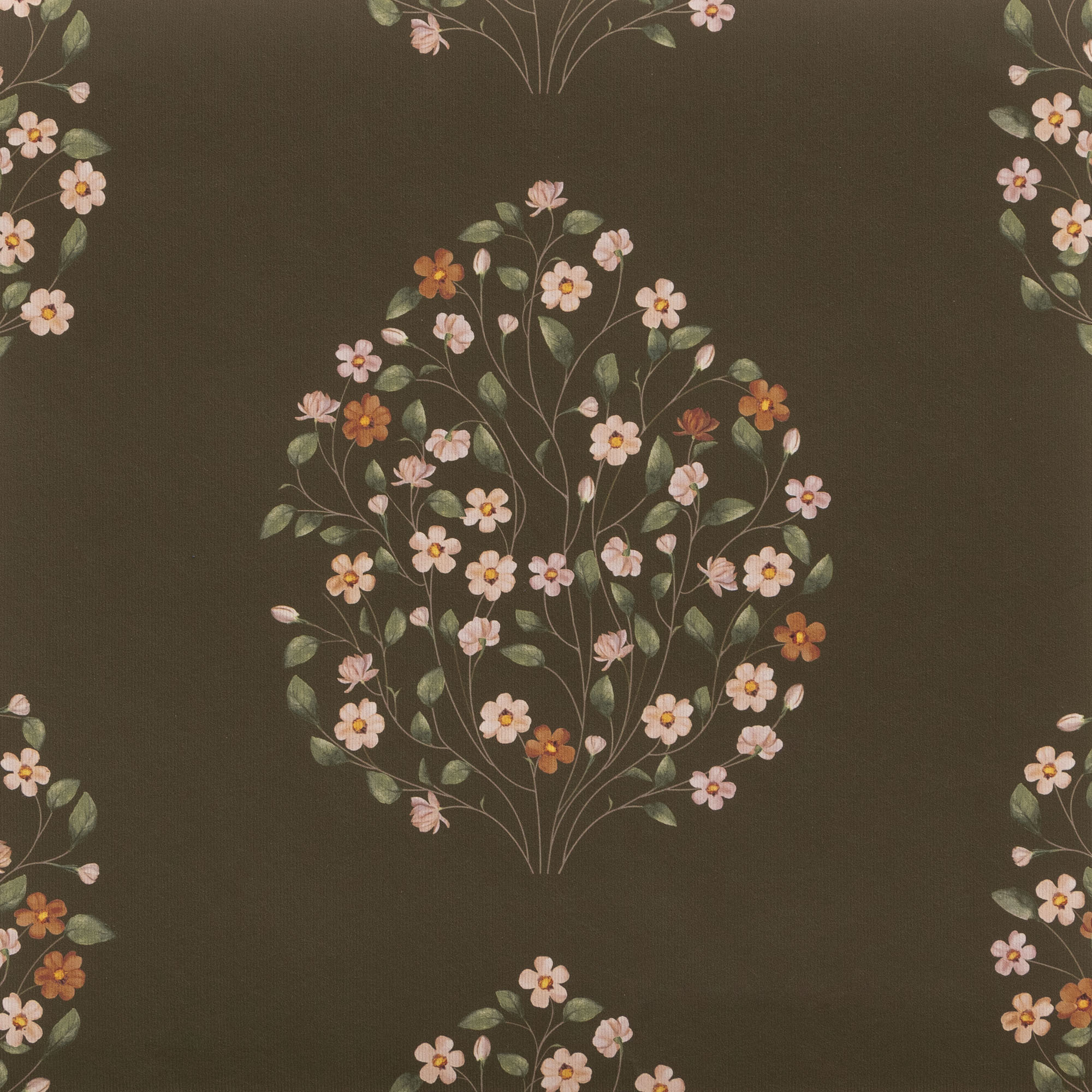 "Jasmine Bagh Meadows -  Wallpaper Swatch 7"" x 10"""