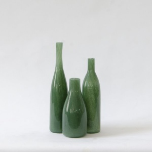 Jewel Glass Vase - Emerald
