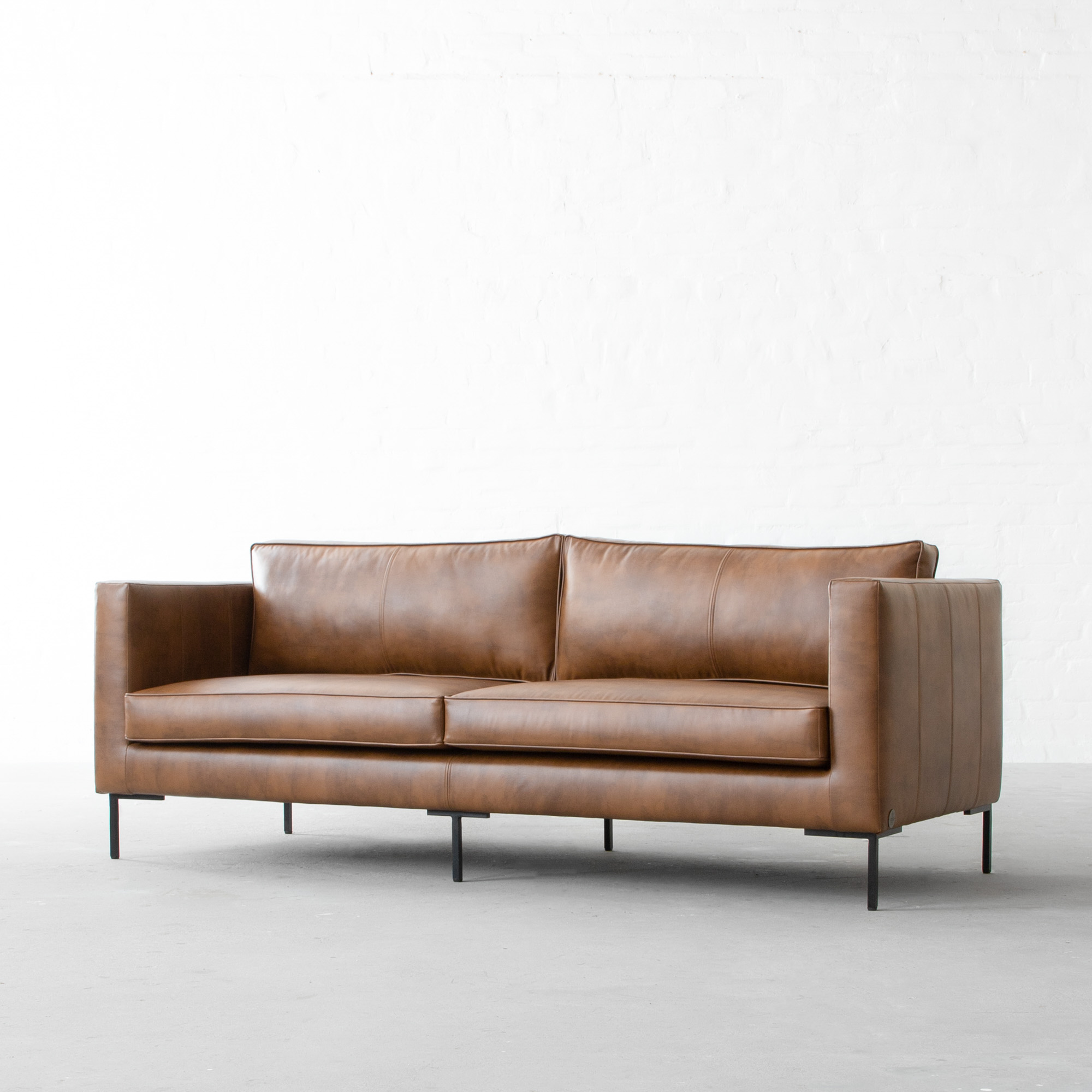 L.A Faux Leather Sofa Collection