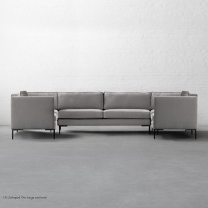 L.A U-shaped Xtra Large sectional