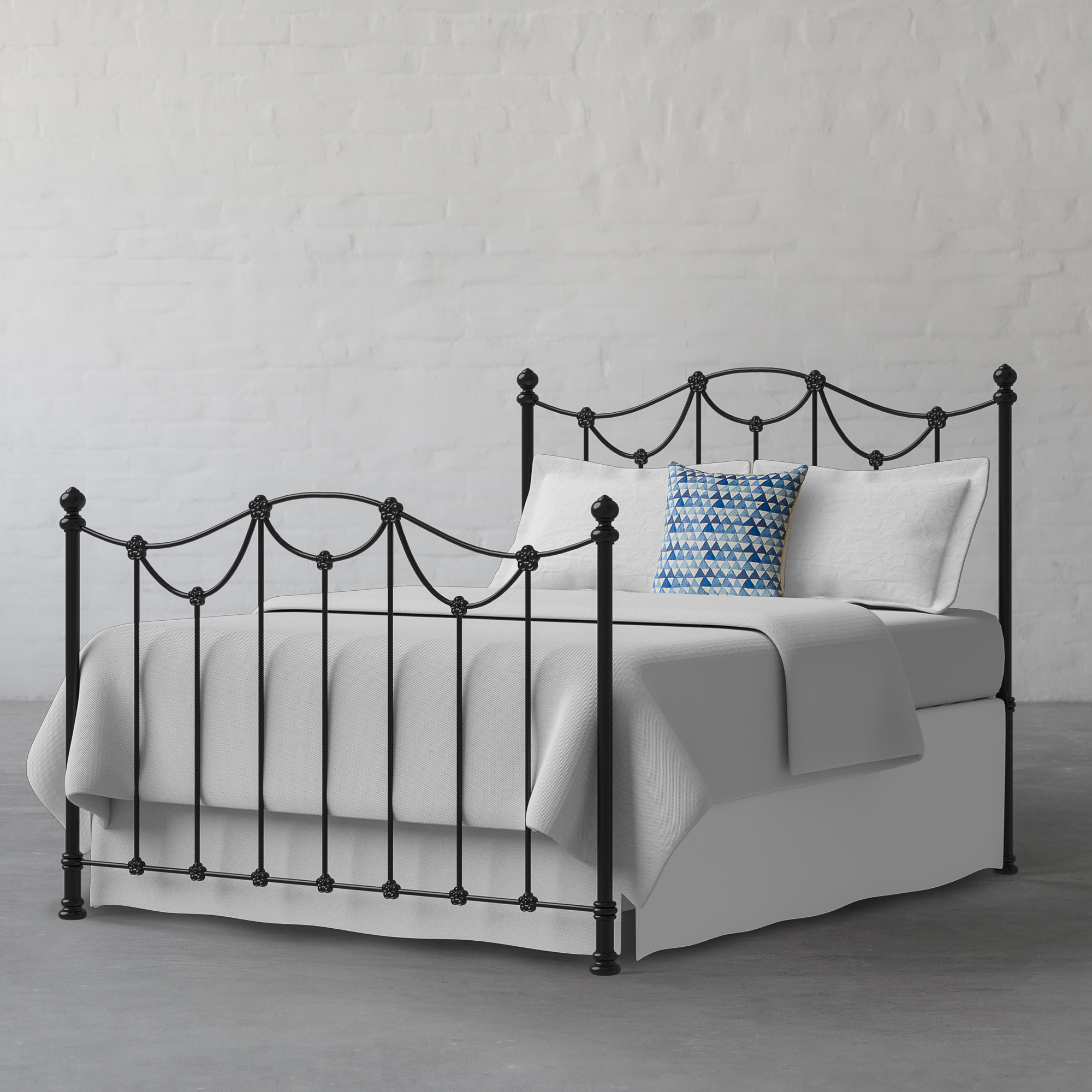 Lincoln Metal Bed Collection