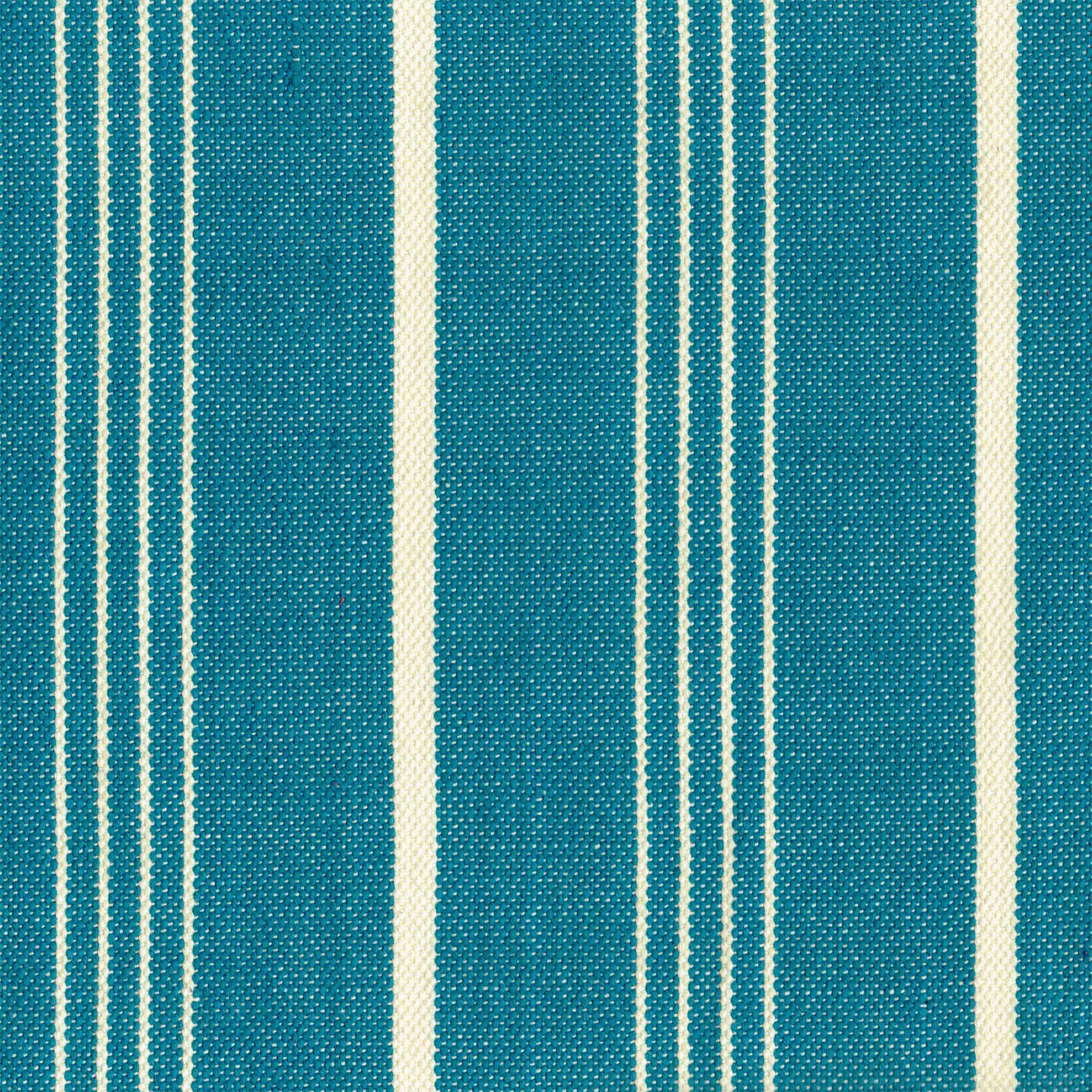LINEN COTTON OCEAN AND PEARL STRIPE SWATCH