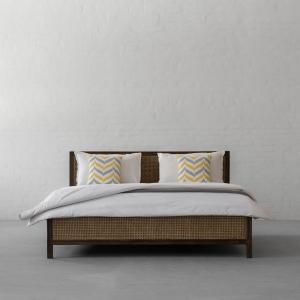 Cochin Rattan Bed