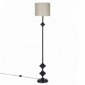 Rambagh Floor Lamp Stand – Ebony