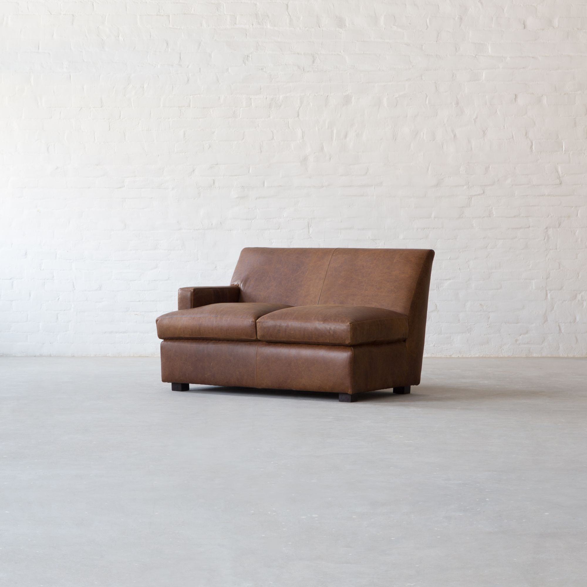 Manor Leather - L Shape Sectional