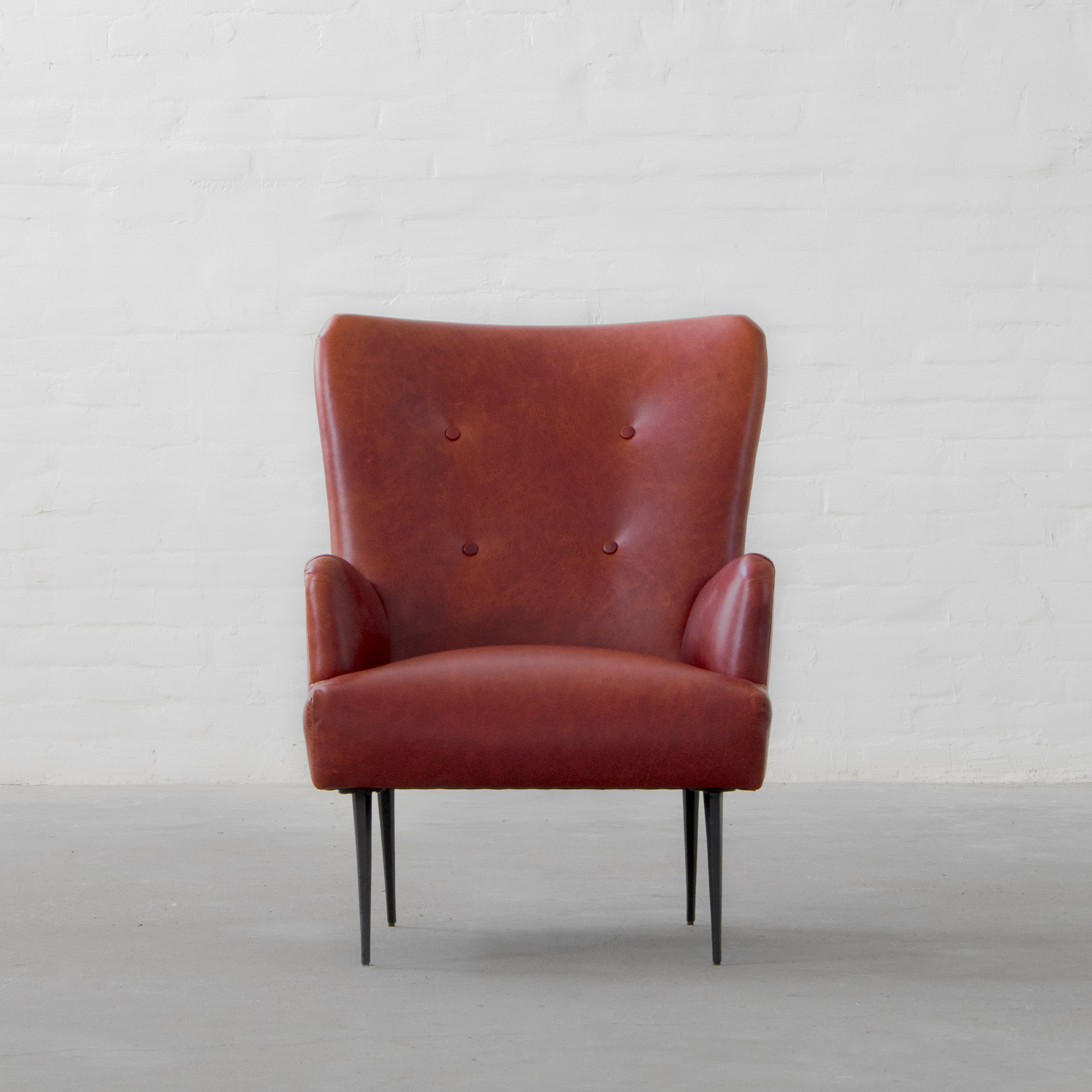 Melbourne Leather Armchair