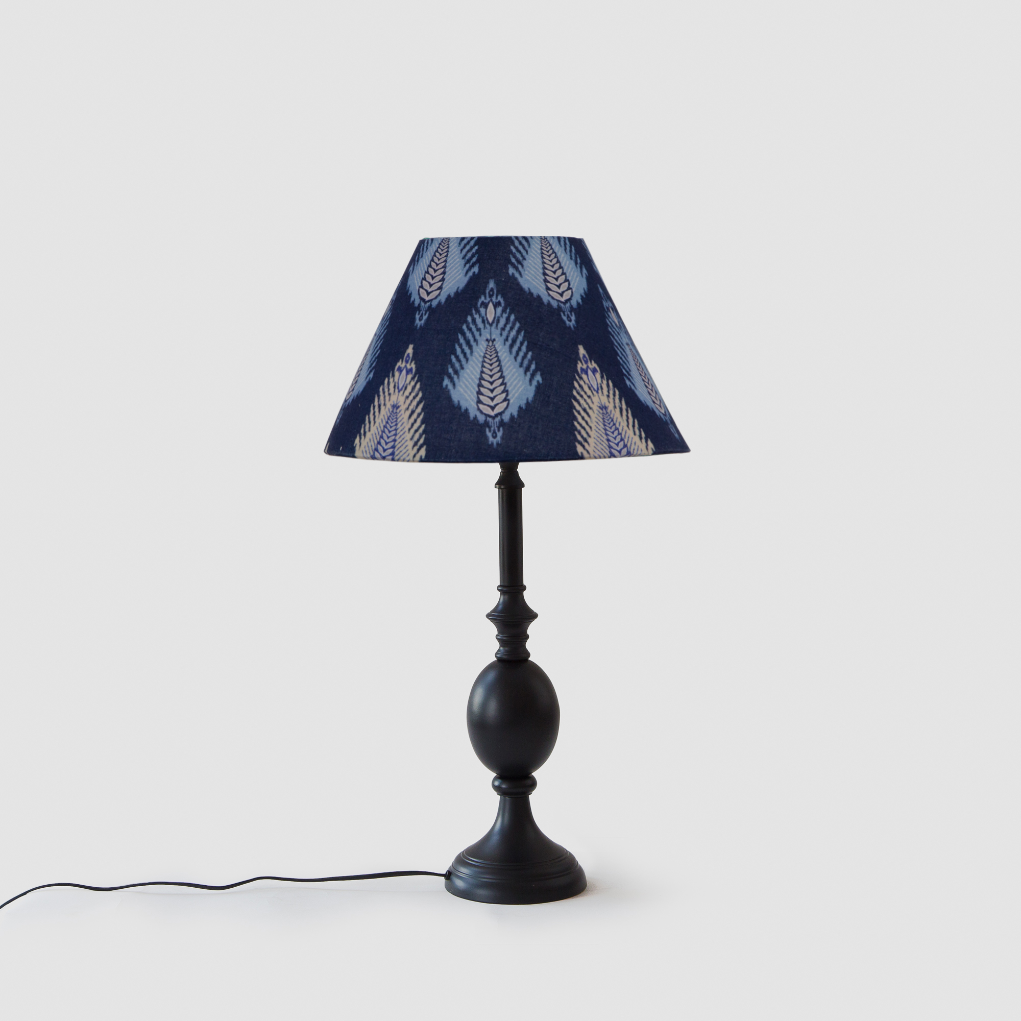 Cottage Bell Lampshade – Small - Midnight Bloom