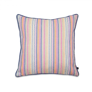 MULTICOLORED CHALK CUSHION COVER