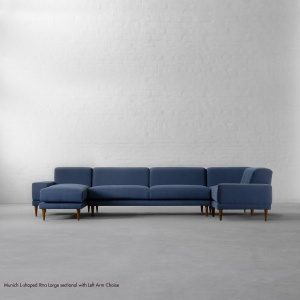 L-shaped Extra Large Sectional with Chaise - Munich