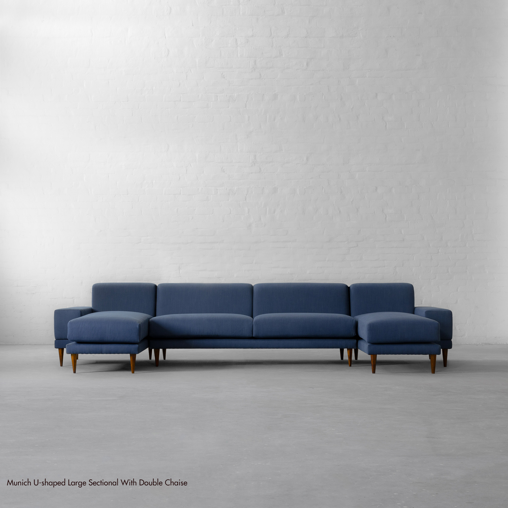 Large U-shaped Sectional with Double Chaise - Munich