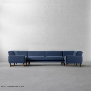U-shaped Extra Large Sectional - Munich