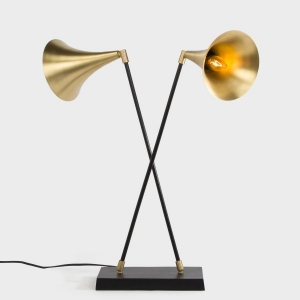 Bengal Gramophone Table Lamp (Double)