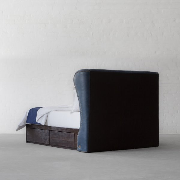 Wingback Leather Bed Collection