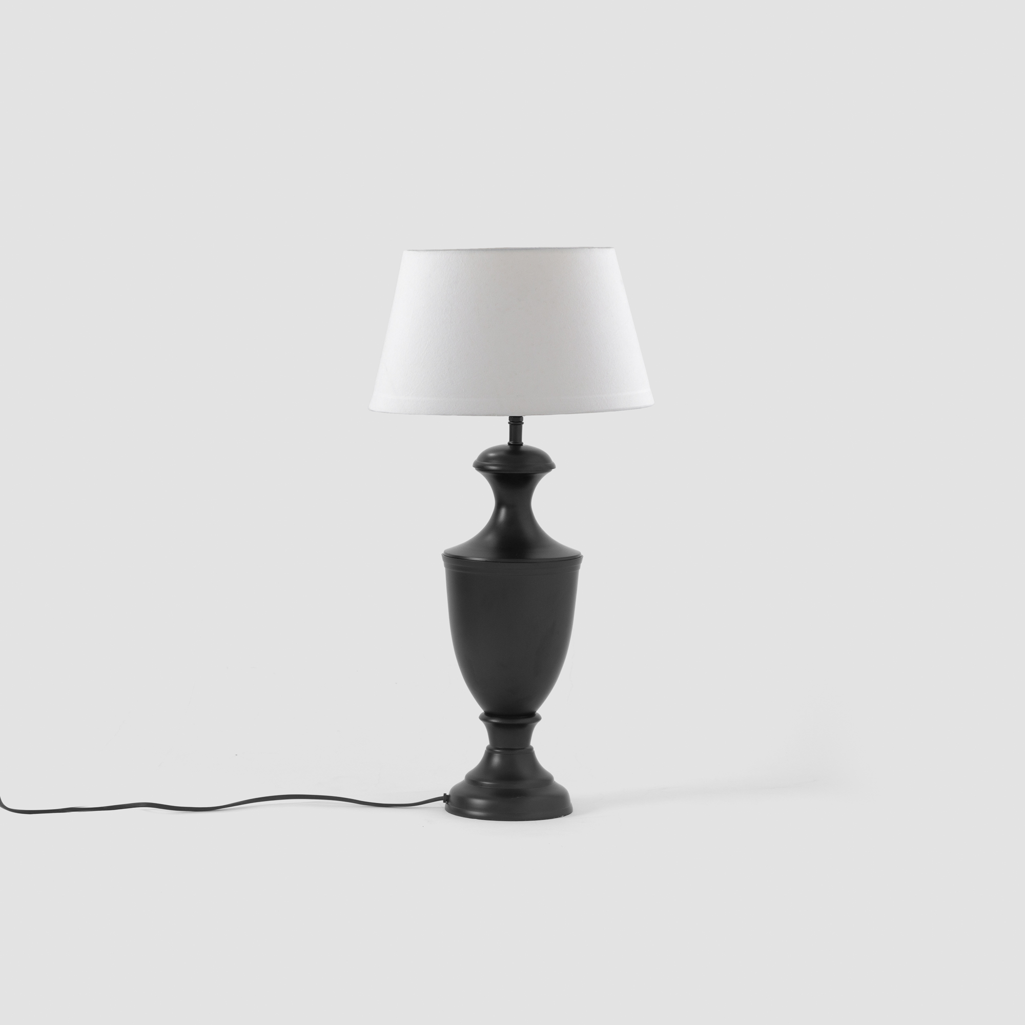 Vienna Chalice Table Lamp Stand - Ebony