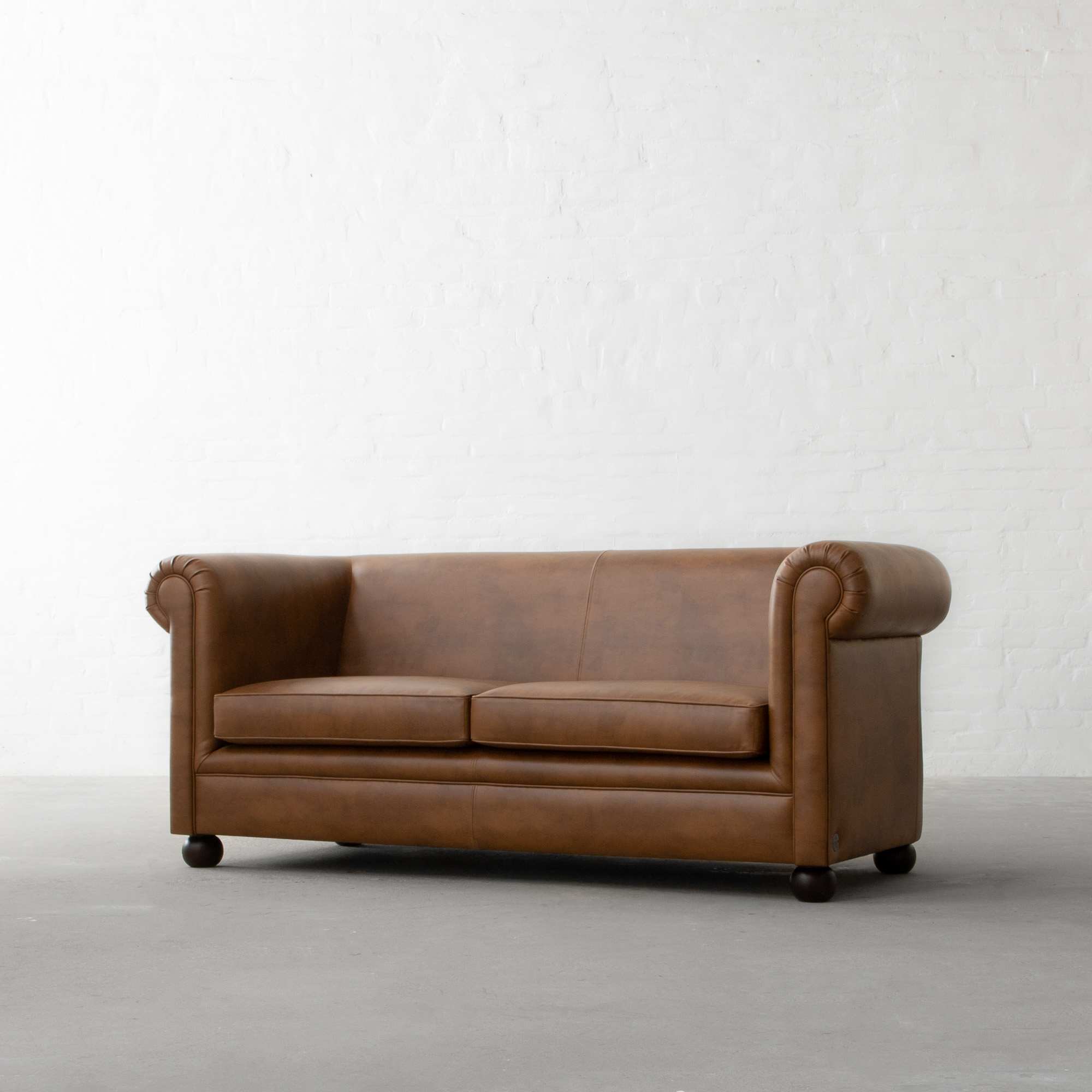 Oxford Chesterfield Faux Leather Sofa Collection