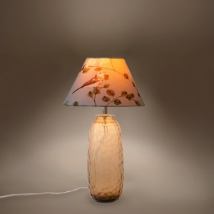 Pebbles Glass Lamp Stand - Brunette