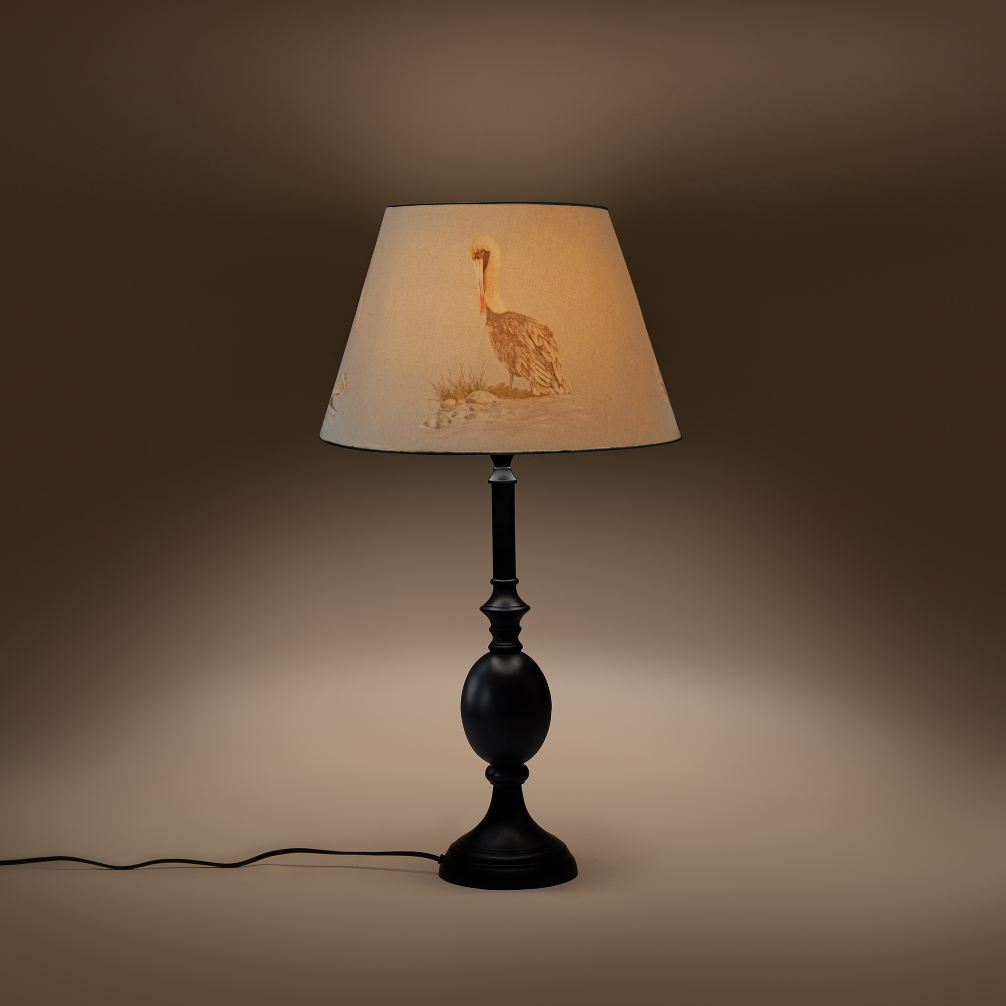 Cottage Bell Lampshade - Large - Poised Pelicans