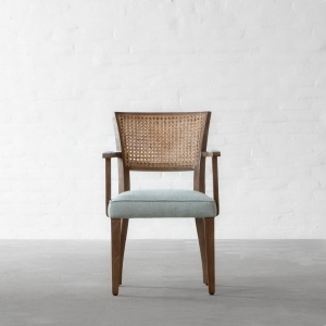Prague Rattan Dining Chair - With Arms