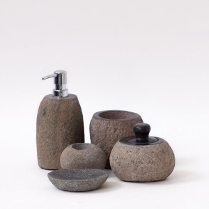 Resort Stone Bath Set