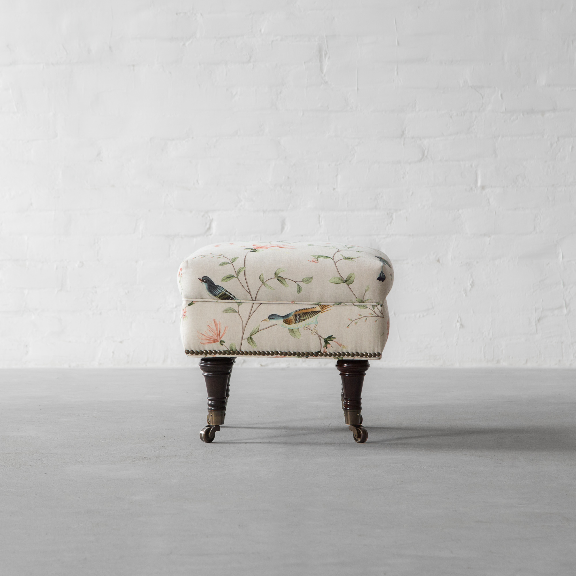 Ryan Upholstered Non-Tufted Ottoman