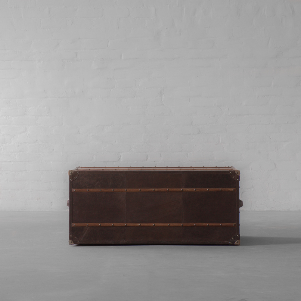 Samode Leather Trunk Coffee Table