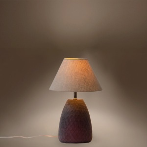 Scales Glass Lamp Stand - Brunette