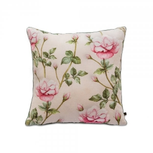 Secret Garden Vintage Rose Cushion Cover