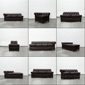 BUILD YOUR OWN CHESTERFIELD SECTIONAL
