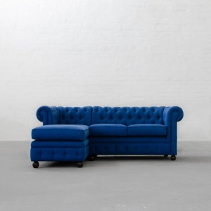 Chesterfield Chaise Sectional Sofa