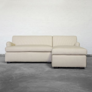 Chaise Sectional- Rolled Arms