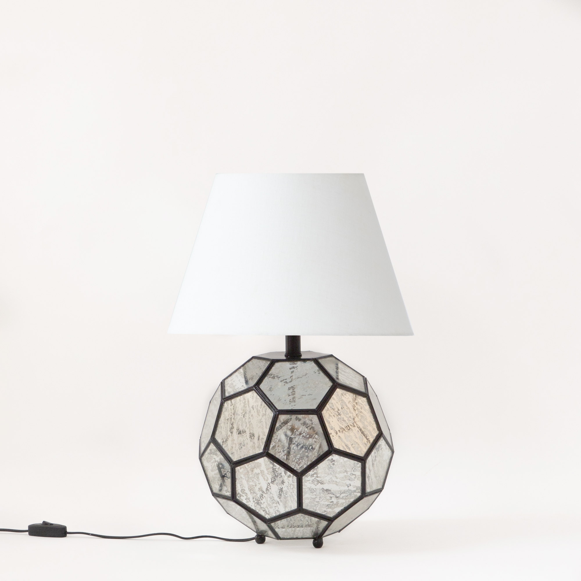 Sienna Metal and Glass Table Lamp