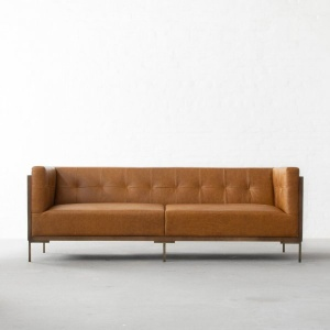 New York Leather Sofa Collection