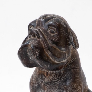 The Wrinkled Bulldog Wooden Décor Object
