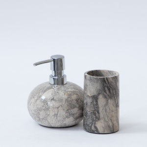 Vietnam Stone Bath Set