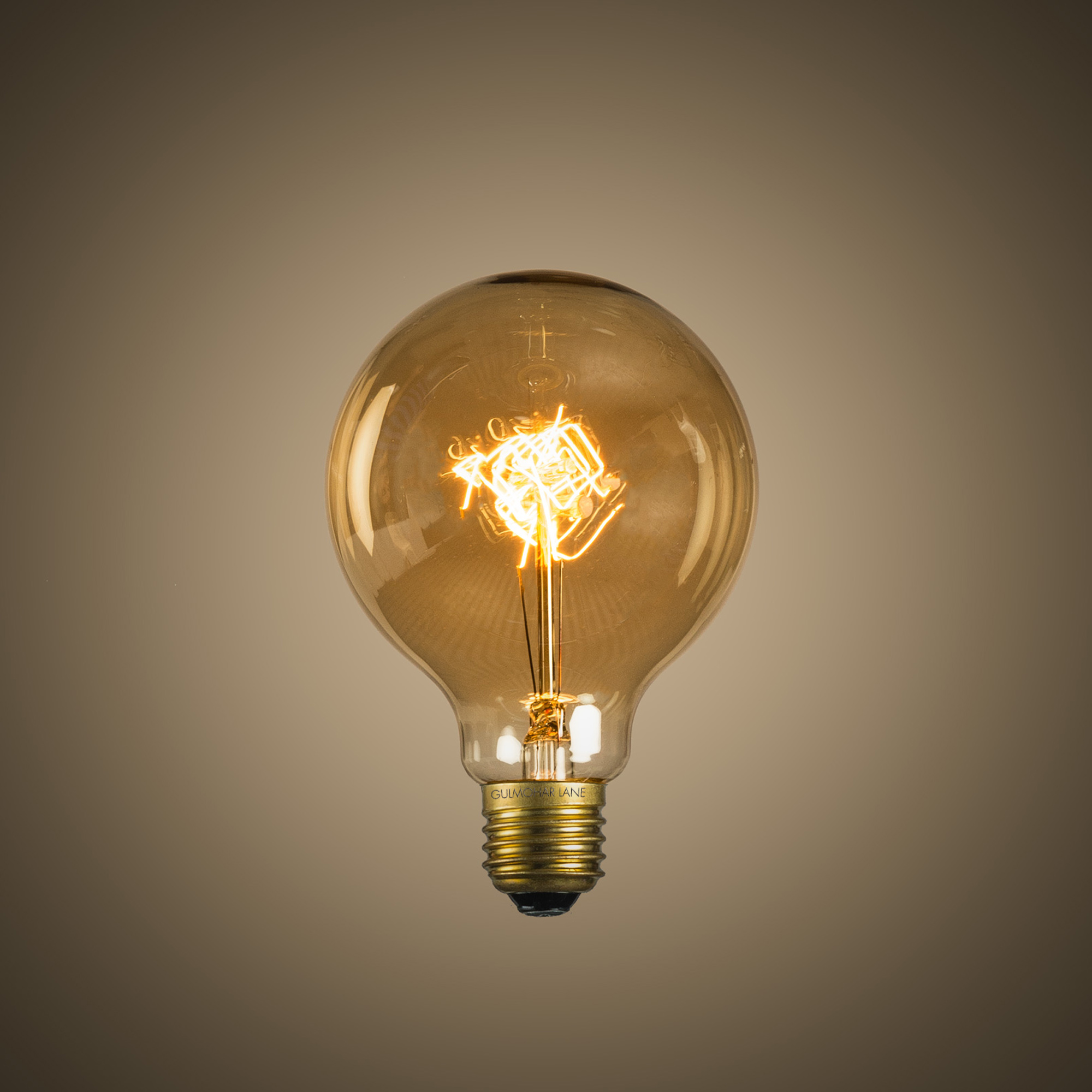 Vintage Globe Filament Bulb (Medium)