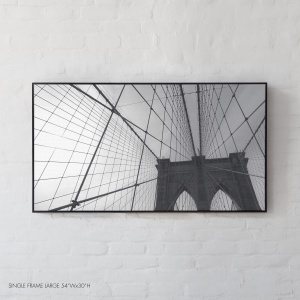 The 1883 Achromatic Brooklyn Bridge