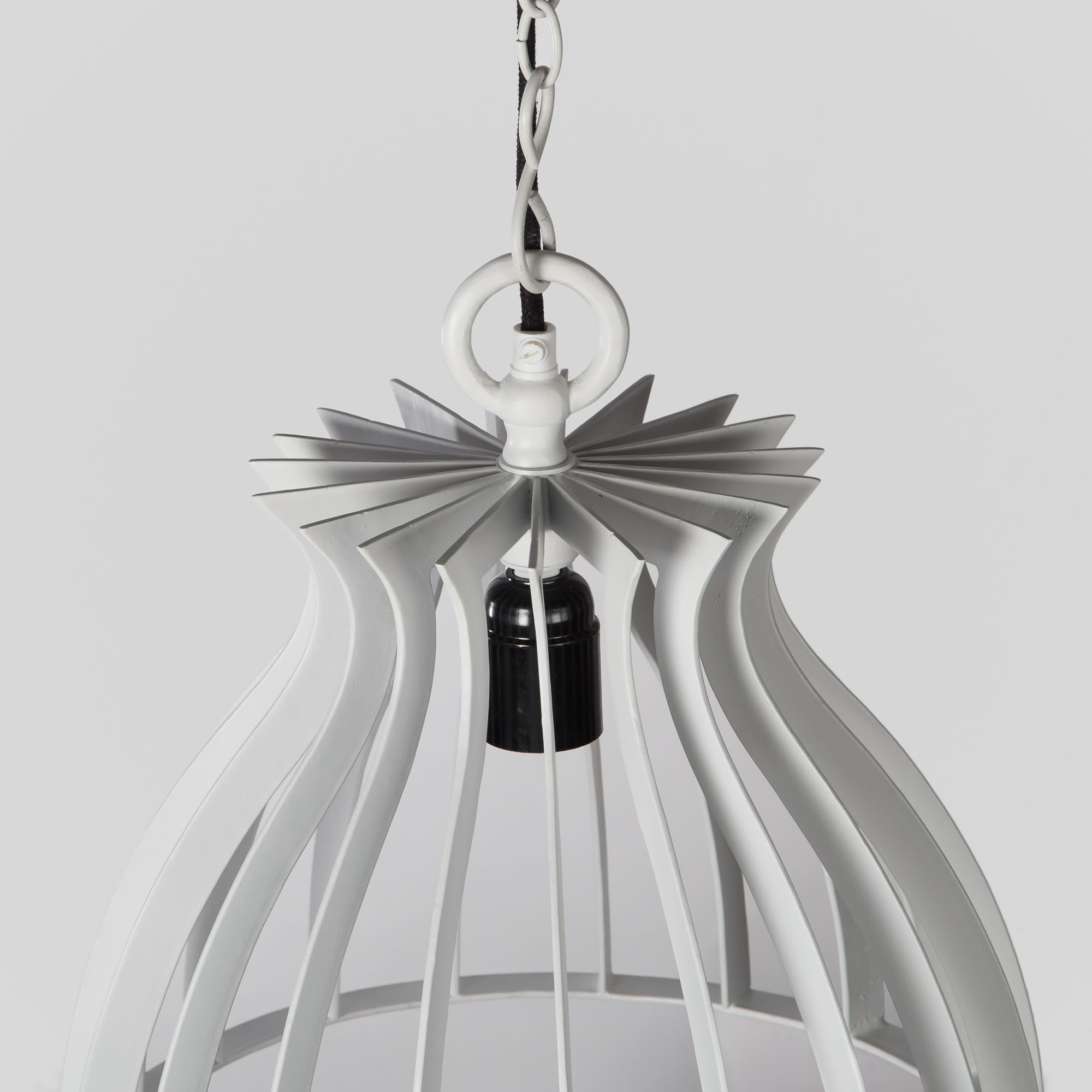 Warehouse Pendant Lamp- Ivory