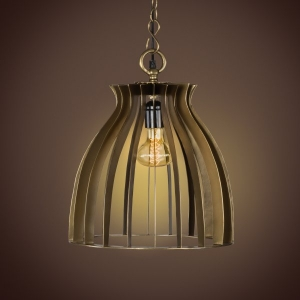 Warehouse Pendant Lamp- Antique Brass