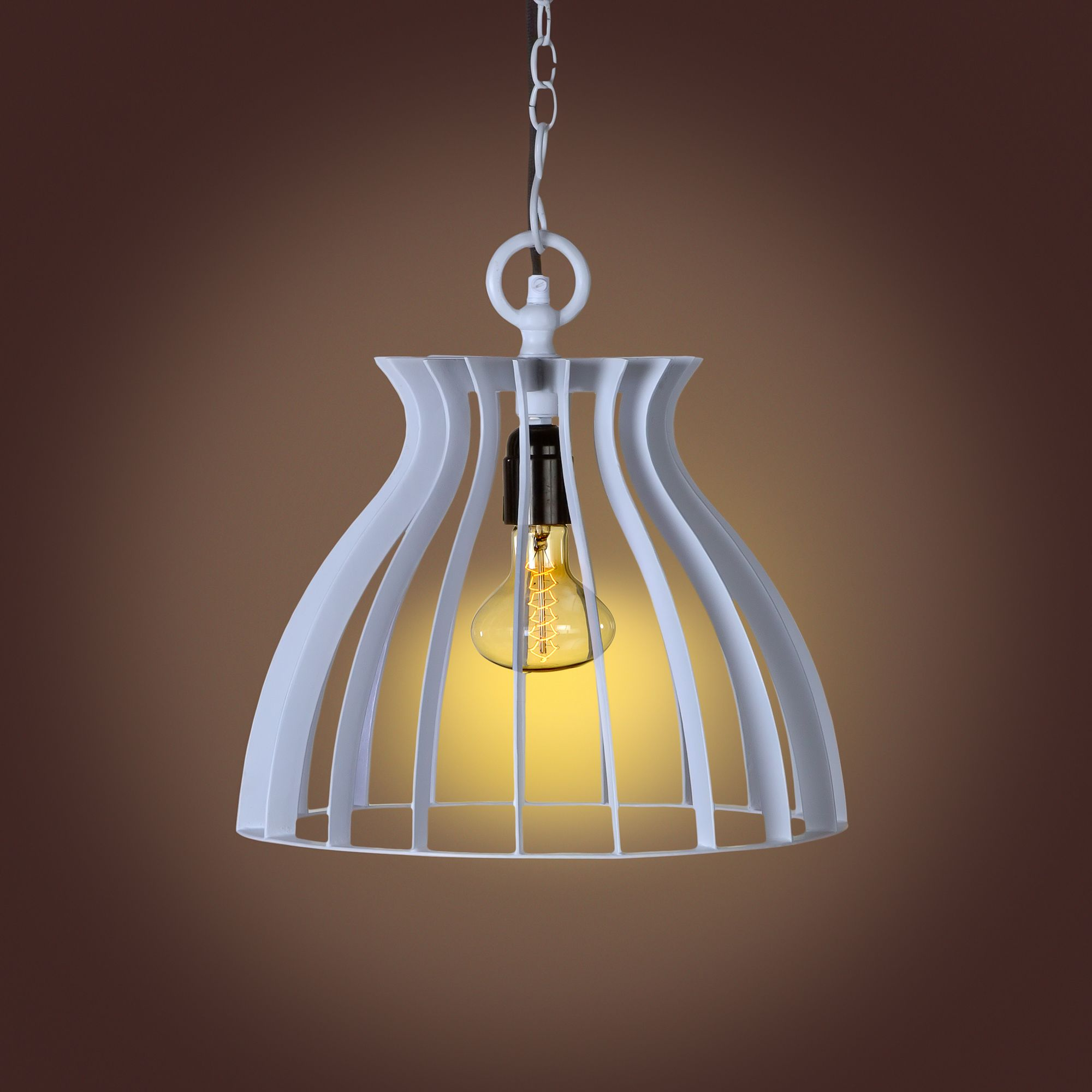 pendant warehouse shade fixture light pin nuvo