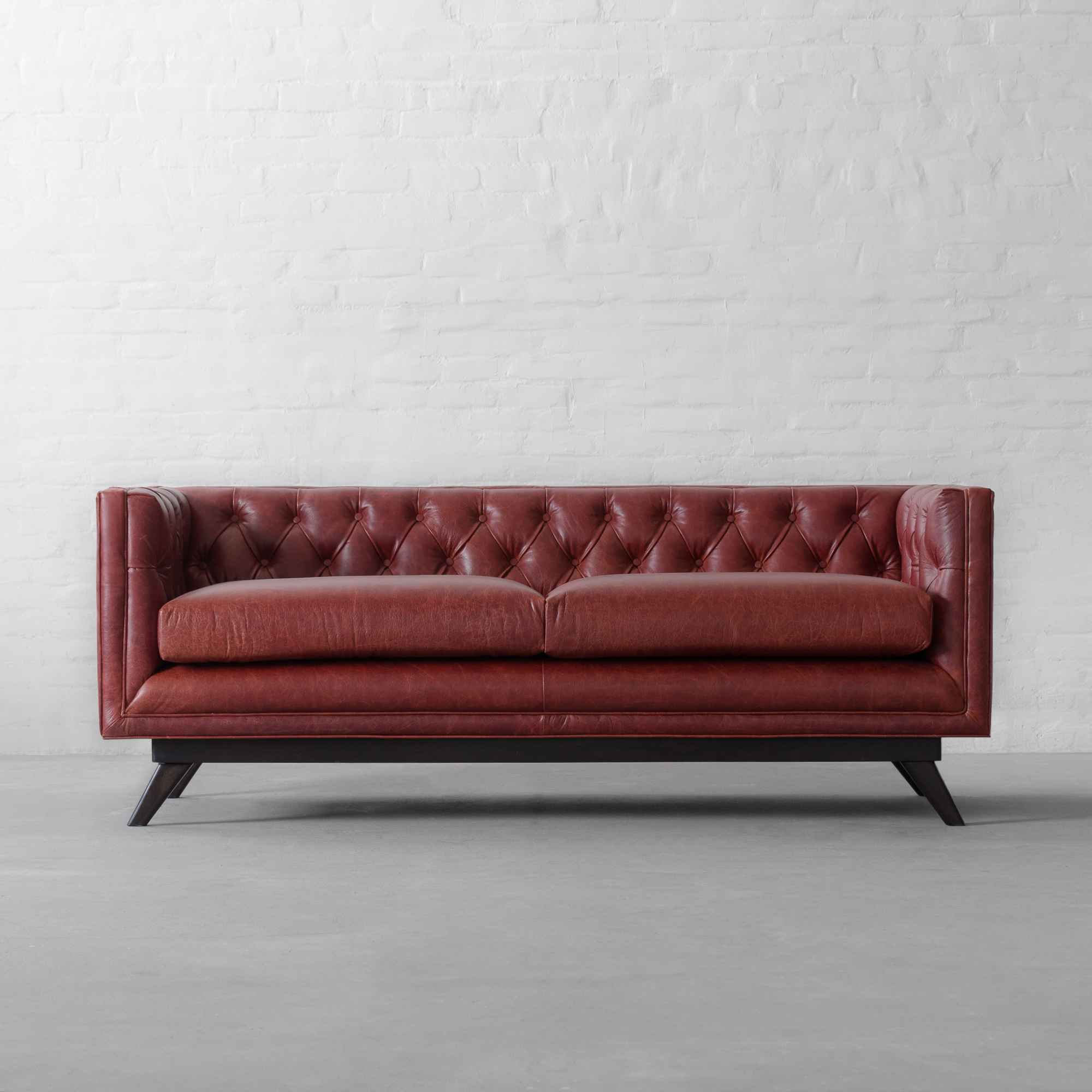Bombay Leather Sofa Collection