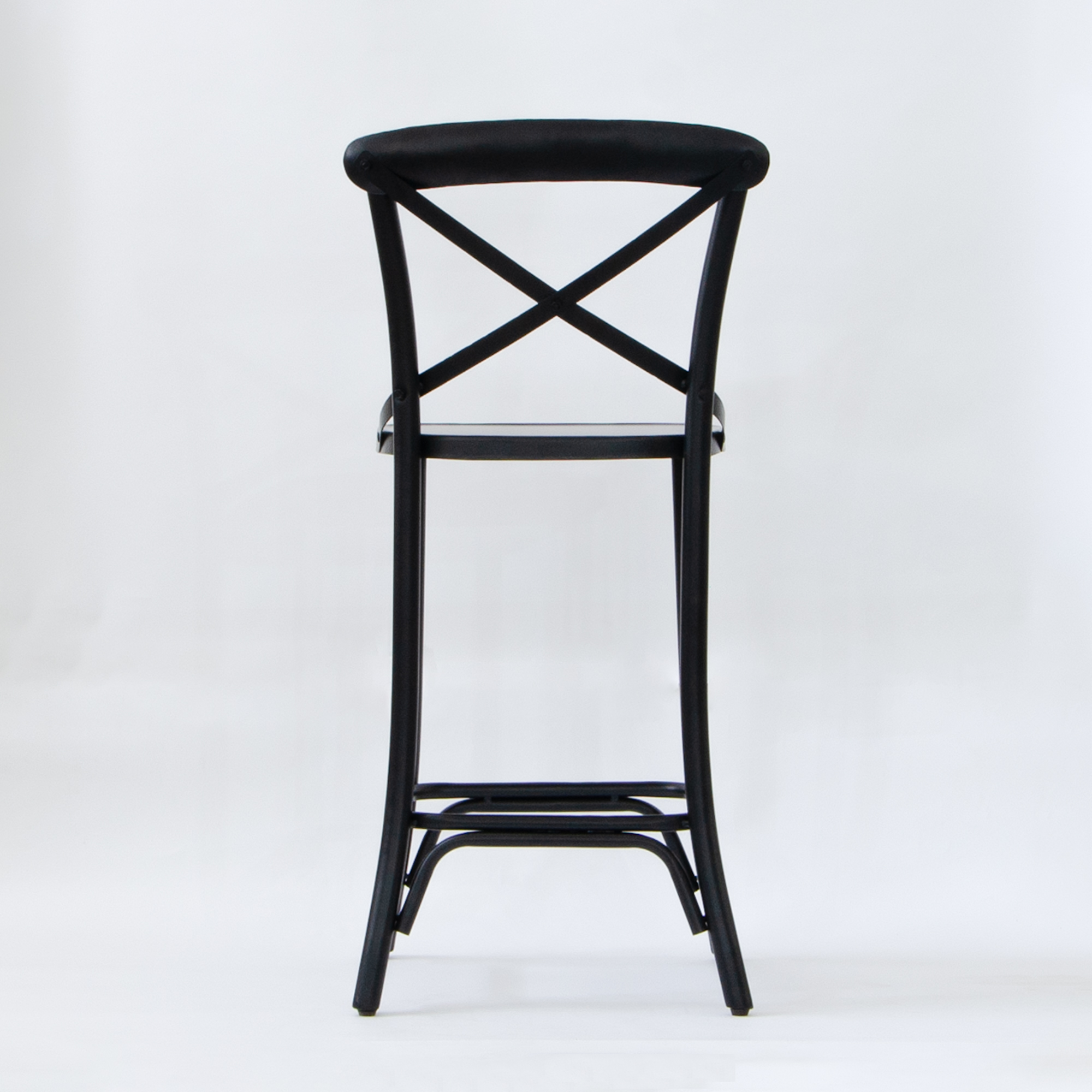 Winston Metal Bar Chair - Ebony